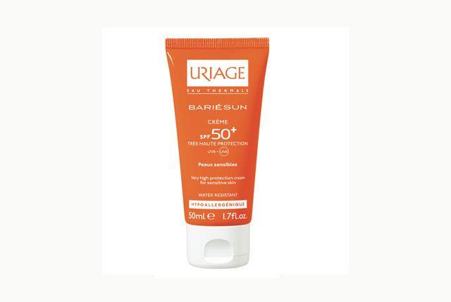 Toujours choisir une crème solaire hypoallergénique - indice 50+